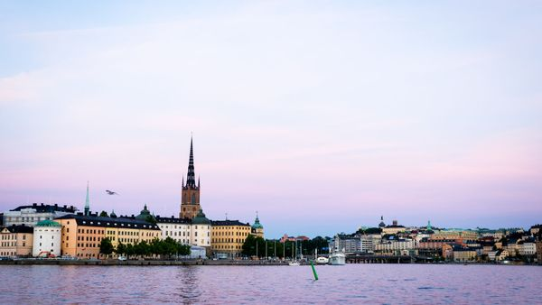 Evening walk around Stockholm