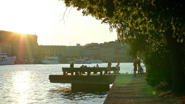Sunset in Skeppsholmen
